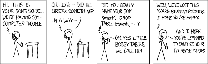 SQL Injection Joke